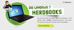 50€ Amazon Gutschein beim kauf eines Windows 7 Pc