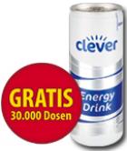 Für Österreicher: 30000 kostenlose EnergyDrinks bei Clever facebook