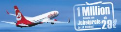 1 Millionen Jubeltickets bei Air Berlin! London, Hamburg, Dubai, Bangkok, Mallorca… ab 29,90€
