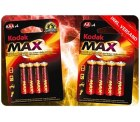 100 Batterien (80 AA und 20 AAA) Mega Kodak Alkaline Batterie Pack für 19,95