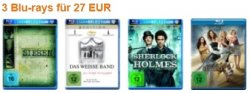 3 Blu Ray für 27€ @ amazon