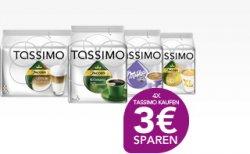 4 Tassimo Produkte kaufen und 3 EUR Sofortrabatt erhalten bis zum 04.06.2011