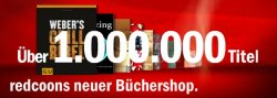 5€ Buchgutschein (10€ MBW) bei Redcoon keine Versandkosten! (ab dem 25.05 gültig)