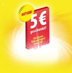 5 EUR Penny Supermarkt Einkaufsgutschein, einlösbar vom 9. bis 14. Mai!