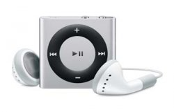 Apple iPod shuffle MP3-Player 2 GB aktuelle 4. Generation für 33,90 Euro. (5 Farben)