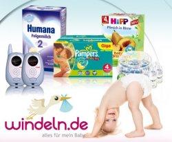DailyDeal Speeddeal: 30 EUR Windeln.de Gutschein für 15 EUR nur bis 15 Uhr