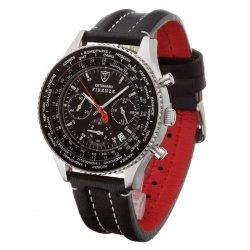 DETOMASO Herrenuhr FIRENZE Chronograph Leder für 72,41€ statt 189€
