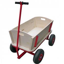 eBay WOW von morgen: Rustikaler Bollerwagen Holz (Vatertag?) für 34,99