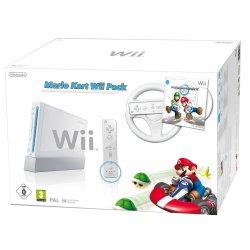 Extremer Preisfall bei Konsolen, z.B. Nintendo Wii Mario Kart Pack für 139€ ohne VSK bei Amazon