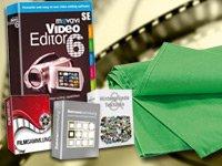 Greenscreen + Videobearbeitungs- & Konverter-Suite 2011 (PC-DVD) – Gratis!