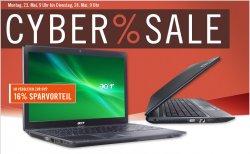 Heute (Montag 23.05) im Cybersale: Acer TravelMate 5740-373G32Mnss für 337,95 inkl. Versand