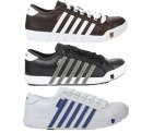 K-Swiss NEWPORT Leder Sneaker in schwarz, braun oder weiss für nur 34,95 €