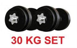 Kurzhantelset 30kg für 25,85 versandkostenfrei