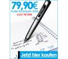 Livescribe Puls Smartpen 2GB für 79,90€ / Echo Smartpen im Bundle mit 4er Pack DIN A4 Blöcken 139€