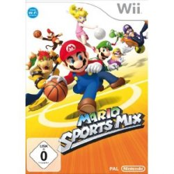 Mario Sports Mix für die Wii zum amazonischen Preis von 23 EUR versandkostenfrei