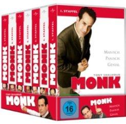 Monk Season 1-7 Box (28 DVDs) bei Promarkt für 79,99 EUR