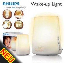 Philips Wake Up Light HF 3480 mit Dämmerungssensor & Radio 53,09 Euro