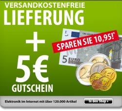 Voelkner 5 Euro Gutschein  und Versandkostenfrei  (MBW 25 Euro)