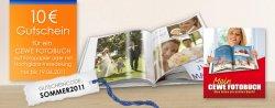 10€ Gutschein für ein Cewe – Fotobuch