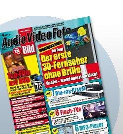 13 Mal AudioVideoFoto Bild + DVD für 1,80€ Jahresabo