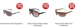 283 verschiedene Diesel Sonnenbrillen für ca. 25,10€