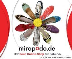 40 € Gutschein für Schuhe bei Mirapodo für 15 € (12€ für Neukunden)