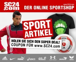 45€ Gutschein für den Onlineshop sc24.com für 14,99€