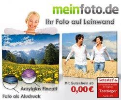 50 Rabatt! 25 statt 50 Euro für Deine schönsten Fotos vom Testsieger meinfoto.de – Leinwand- und Aludrucke