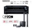 608,90€ incl. Versand – Onkyo TX-SR309 3D-Heimkinoreceiver und Canton CD 1000.2 Lautsprechersystem mit aktivem Subwoofer – Im Idealo Vergleich sind...