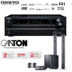 608,90€ incl. Versand – Onkyo TX-SR309 3D-Heimkinoreceiver und Canton CD 1000.2 Lautsprechersystem mit aktivem Subwoofer – Im Idealo Vergleich sind diese Komponenten ab ca. 800€ zu haben
