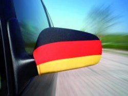 Außenspiegelfahne Deutschland fürs Auto für 2,99€ incl. Versand
