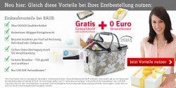 BAUR –  Gratis Einkaufskorb mit Isolierfunktion + Versandkosten Gutschein im Wert von 5,95 Euro