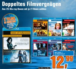 """Best of Hollywood"" – doppeltes Blu-ray Filmvergnügen für 12,99€"