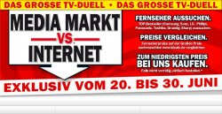 Das große TV-Duell – Media Markt vs. Internet