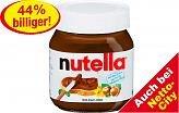 Der heiße Tipp für den Frühstückstisch: Nutella für 1,11€ bei Netto und Netto – City