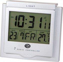 Funkwecker mit Datum und Temperatur-Anzeige für 6,99 (+2,20 Versand) – Ersparnis: 65,03% (13,00 )