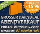 Heute bis 24 Uhr: 15% auf alles bei DailyDeal!!!