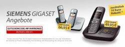 Meinpaket Gigaset-Telefonaktion. Viele Modelle unter dem besten Internetpreis