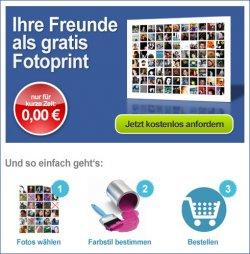 Mini-Poster mit Euren Facebook-Freunden