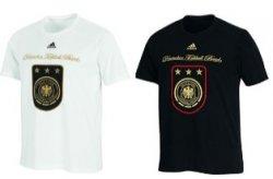 Original Adidas DFB Deutschland Fußball T-Shirt in weiß oder schwarz nur 12,95€ inkl. Versand