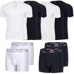 PUMA 2er Pack T-Shirts (V- und R-Neck) oder Boxershorts für 14,99€ inkl. Versand