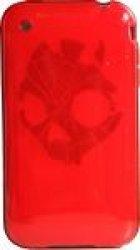 Skullcandy – Shattered Gel Red Soft Sleeve iPhone 2010