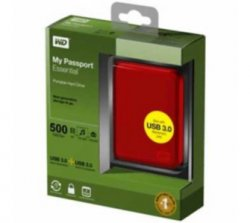 Western Digital My Passport Essential 500 GB USB3  für 48,90€