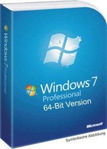 Windows 7 Professional 64Bit (OEM Version) zum Hammerpreis von 49,95€ versandkostenfrei