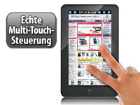 1-GHz-Tablet mit Android 2.3 und 7″-Touchscreen kapazitiv   512MB   Wifi   HDMI HD-Fähig und mehr… für 139€ statt 249€*!!!
