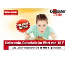 10-Euro-Gutschein für Lieferando kostenlos