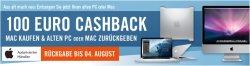 100€ Cashback beim Kauf eines Mac – z.B. das neue Apple MacBook Air 11,6 Core i5 für 799€ statt 895€ (idealo)