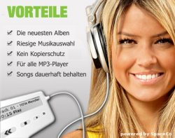 14 Tage lang aktuelle Chart-Musik legal downladen bei Musicmonster.fm