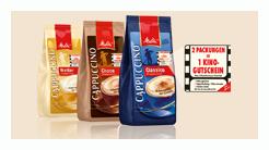 2x Melitta Cappuccino für je 1,99€ kaufen und kostenlos ins Kino!