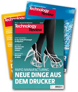 3x Technology Review kostenlos & selbstkündigend. Kein Risiko